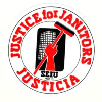 Justice for Janitors Sticker